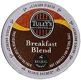 Tullys Coffee Breakfast Blend, K-Cup Portion Pack for Keurig K-Cup Brewers 24-Count