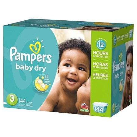 Pampers Giant Pack front-735086