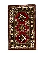L'EDEN DEL TAPPETO Alfombra Uzebekistan Super Rojo/Multicolor 57 x 92 cm