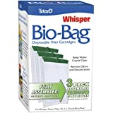 Tetra 26169 Whisper Bio-Bag Cartridge, Medium, 3-Pack