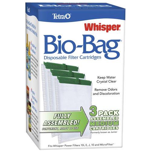 Tetra 26169 Whisper Bio-Bag Cartridge, Medium, 3-Pack (Whisper Filters compare prices)