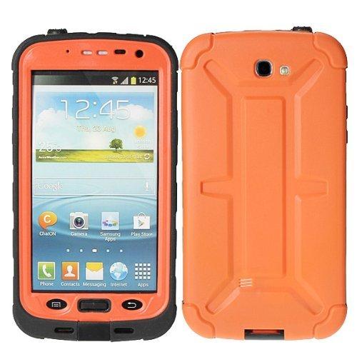 Redpepper® Waterproof Dustproof Snowproof Shockproof Hard Armor Protective Cover Case For Samsung Galaxy Note 2 N7100 (Orange)