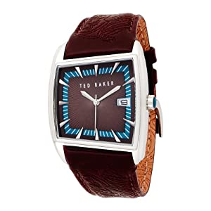 Ted Baker Mens Watch TE1004 with Brown Dial and Brown Leather Strap