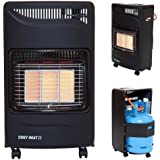 Cosy Heat II Portable Gas Cabinet Heater 4.2KW Includes Regulator & Hose