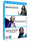 Braveheart / Master and Commander: The Far Side of the World / Kingdom of Heaven Triple Pack [DVD] [1995]