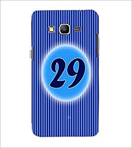PrintDhaba Numerology Number 29 D-2588 Back Case Cover for SAMSUNG GALAXY GRAND PRIME (Multi-Coloured)