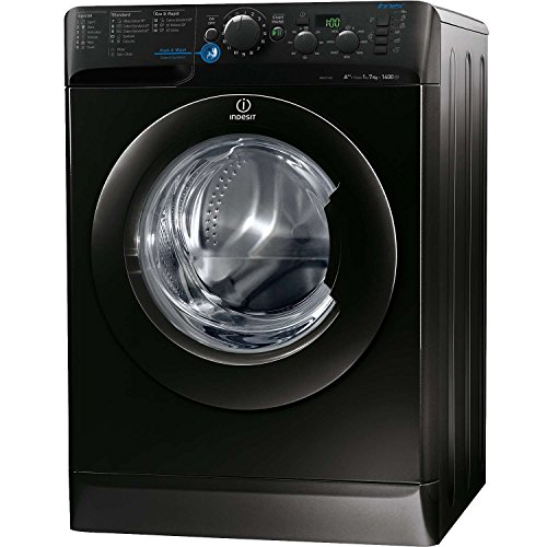 Indesit XWD71452XK Innex Black A++ 7Kg 1400 Spin 16 Programmes Washing Machine