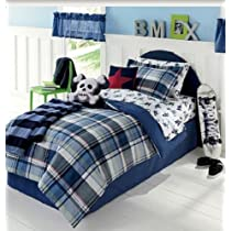 Extreme Sports Boys BMX Skateboard Snowboard TWIN Comforter Set (5 piece Bed In Bag) -
