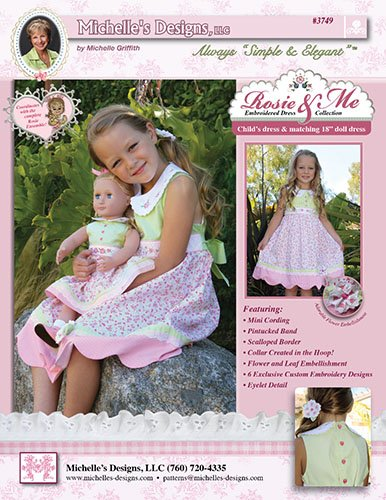 Rosie and Me Dress Collection Pattern