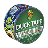 Duck Brand 281497 Graffiti Printed Duct Tape, 1.88 Inches x 10 Yards, Single Roll