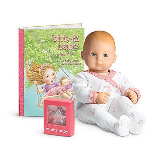 American Girl - Bitty Baby Doll Light Skin Red Hair Grey Eyes Bb7