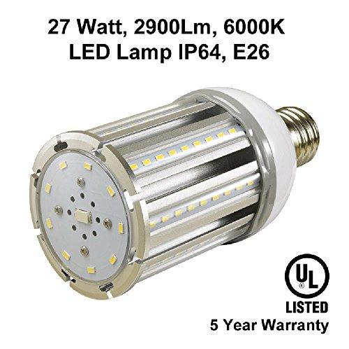 27 Watt 2900 Lumens Led Cool White Lights Lamps Bulbs Ceiling Wall Lighting Commercial Energy Efficient