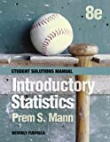 Introductory Statistics, Student Solutions Manual