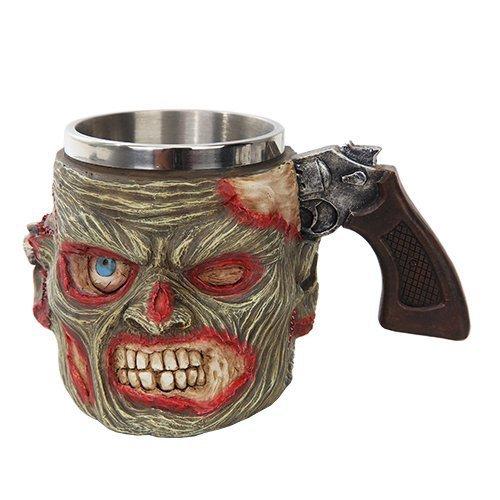 Zombie Drinking Mug Stainless Steel Rim