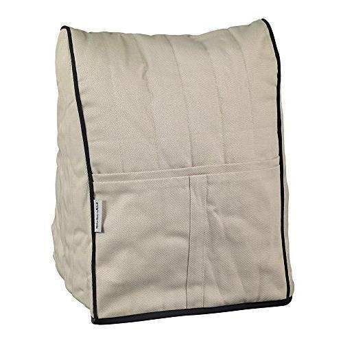KitchenAid, Cloth Cover for Tilt-Head Stand Mixers, Khaki, NEW (Cover For Kitchenaid Lift Mixer compare prices)