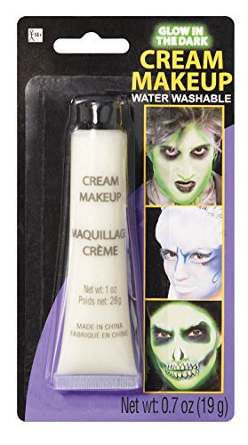 Glow in the Dark Cream Make-Up