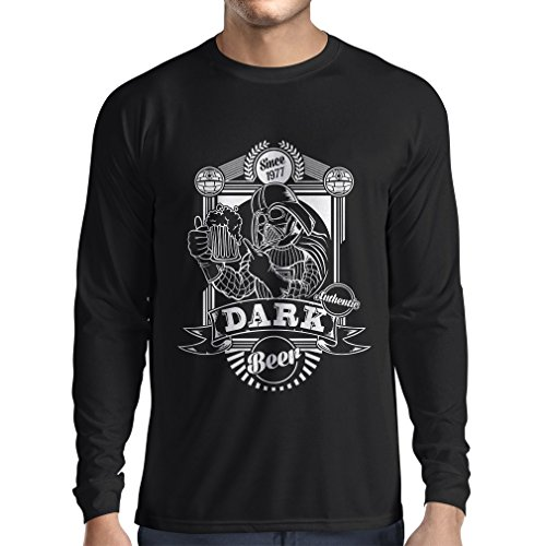 n4835l-t-shirt-manica-lunga-da-uomo-the-dark-side-of-the-beer-large-nero-multicolore