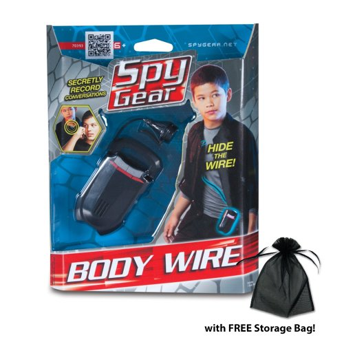 Spy-Gear-Body-Wire-wFree-Storage-Bag