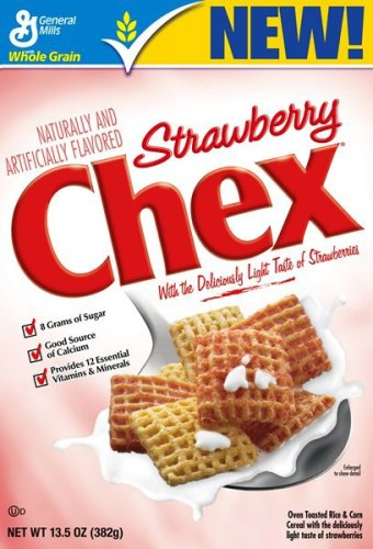 Buy Chex Cereal - Strawberry, 13.5-Ounce Boxes (Pack of 6) (Chex, Health & Personal Care, Products, Food & Snacks, Breakfast Foods, Cereals)