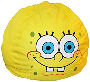 Nickelodeon Spongebob Laughing Bean Bag Chair from Universal Lighting and Decor