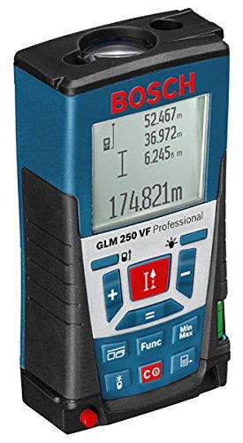Bosch-Professional-GLM-250-VF-005-250-m-Messbereich--1-mm-Messgenauigkeit-Schutztasche-Trageschlaufe-Herstellerzertifikat-4-x-15-V-BatterienAAA
