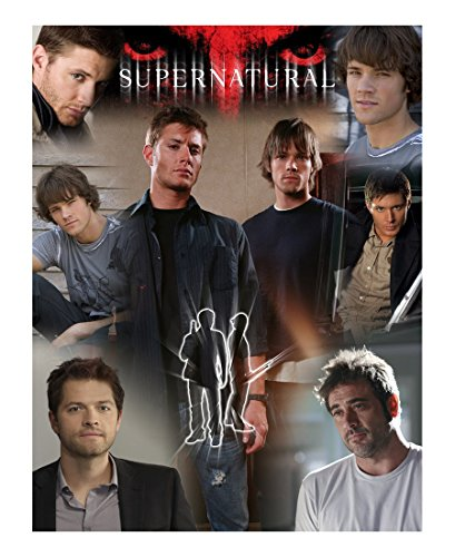 Supernatural Picture Collage Cast Throw Blanket