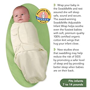 SwaddleMe Infant Wrap Organic Cotton