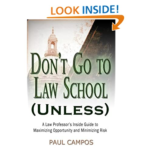 Don't Go to Law School