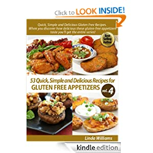 FREE KINDLE BOOK: 53 Nutritious and Delicious Recipes for Gluten Free Appetizers