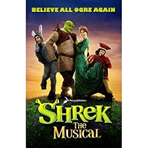 (11x17) Shrek the Musical Poster