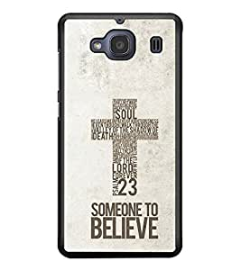 PRINTSWAG TYPOGRAPHY Designer Back Cover Case for XIAOMI REDMI 2S