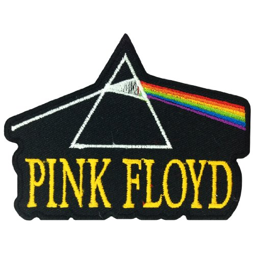 Pink Floyd Musica Band Logo I Embroidered Iron cerotti