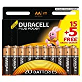 Duracell Plus Power Alkaline Batterien AA (MN1500/LR6) 15+5...