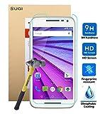 Nexus 5X ガラスフィルム 【KuGi】 表面硬度9H 飛散防止処理 ラウンド処理 Google / LG Nexus 5X / 5 2015 強化ガラス フィルム 超耐久 超薄型 高透過率 保護フィルム