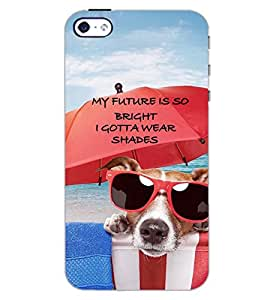 PrintDhaba QUOTE D-7082 Back Case Cover for APPLE IPHONE 4 (Multi-Coloured)