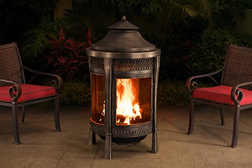 Sunjoy-110504002-Large-Cast-Steel-Outdoor-Fireplace-62-Brown