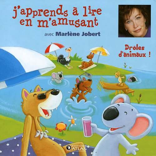 J'apprends a lire en m'amusant : Drôles d'animaux ! (2CD audio)