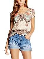 Janis Camiseta Manga Corta (Multicolor)
