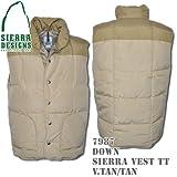 Down Sierra Vest TT 7987: Down Sierra Vest TT 7987: Vintage Tan / Tan