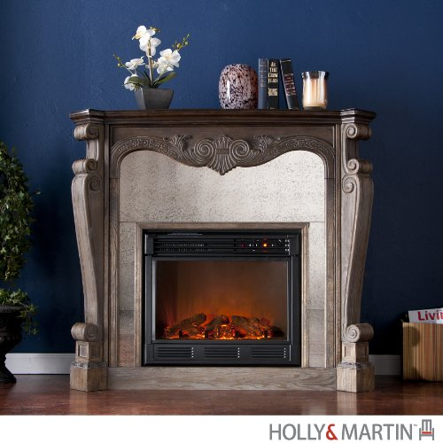 Holly & Martin Oakhurst Electric Fireplace image B00917VHD2.jpg