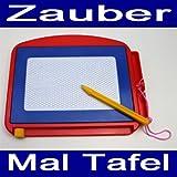 Zaubermaltafel, Kunststoff, mit Stift, versch. Farben, Zauber Mal Magnet Tafel (LHS)