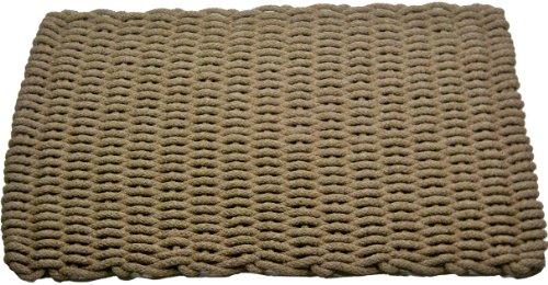 Texas Rope Doormats 2030105 Indoor And Outdoor Doormats, 20 By 30 Inch, Tan front-590066