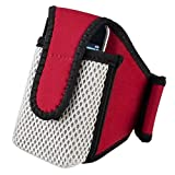 eForCity SportBand with Case for iPod/HTC/Zune (Red)