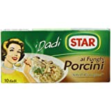 Star Ai Funghi Porcini 10 Stock Cubes 100 g (Pack of 6)