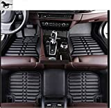 Auto mall Custom Fit Heavy Duty Full Set Floor Mats Carpet for Mitsubishi Pajero 2009-2015(Black)
