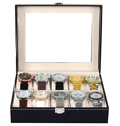 putwo coffret de rangement pour montre. Black Bedroom Furniture Sets. Home Design Ideas
