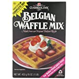 Classique Belgian Waffle Mix, 16-Ounce Boxes (Pack of 6)