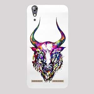 Back cover for Lenovo A6000 Merciless Bull