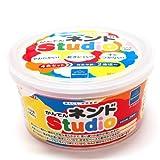 ボーネルンド かんてんネンドStudio 4色セット 白/赤/黄/青 (寒天粘土) 【ボーネルンド】