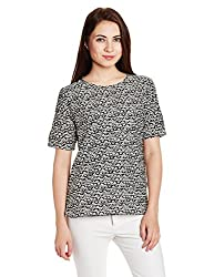 Chemistry Women's Body Blouse Shirt (C16-617WTTOP_Distressed Triangle_X-Small)